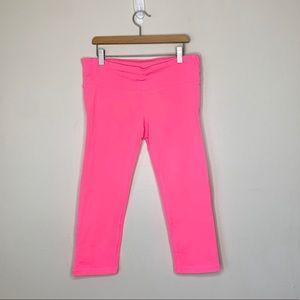 Gap fit pink Capri yoga pants